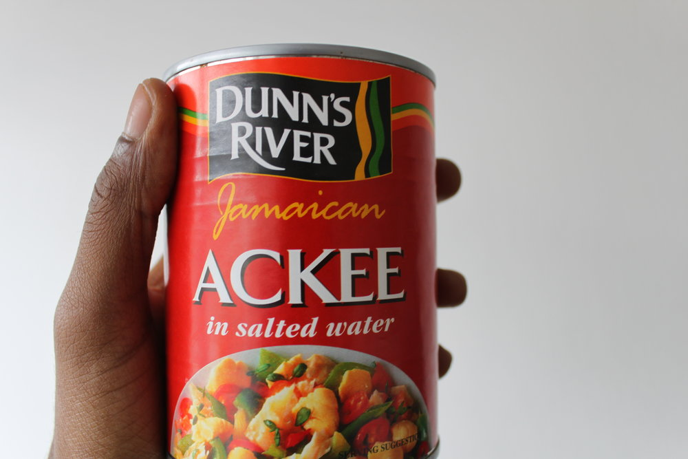 How you'll typically find ackee in the UK.
