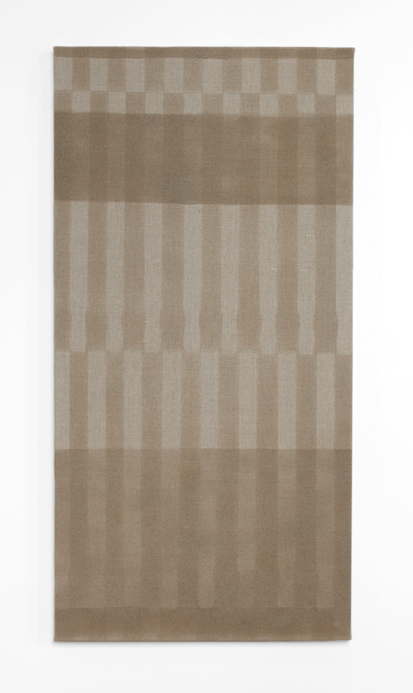Ted Gahl. House painter (Cabana 3), 2014, varnish on canvas, 61x122 cm.