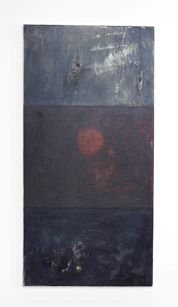 Ted Gahl. Only son (For A. G.), 2014, acryllic on canvas, 61x122 cm.