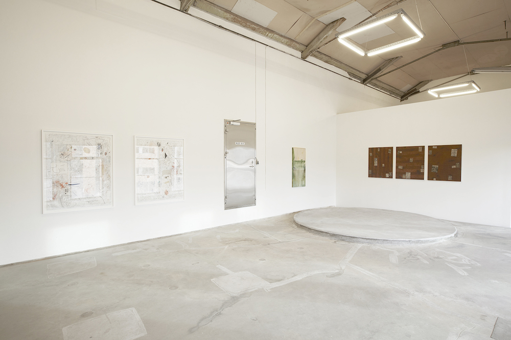 Installation view, upper gallery.