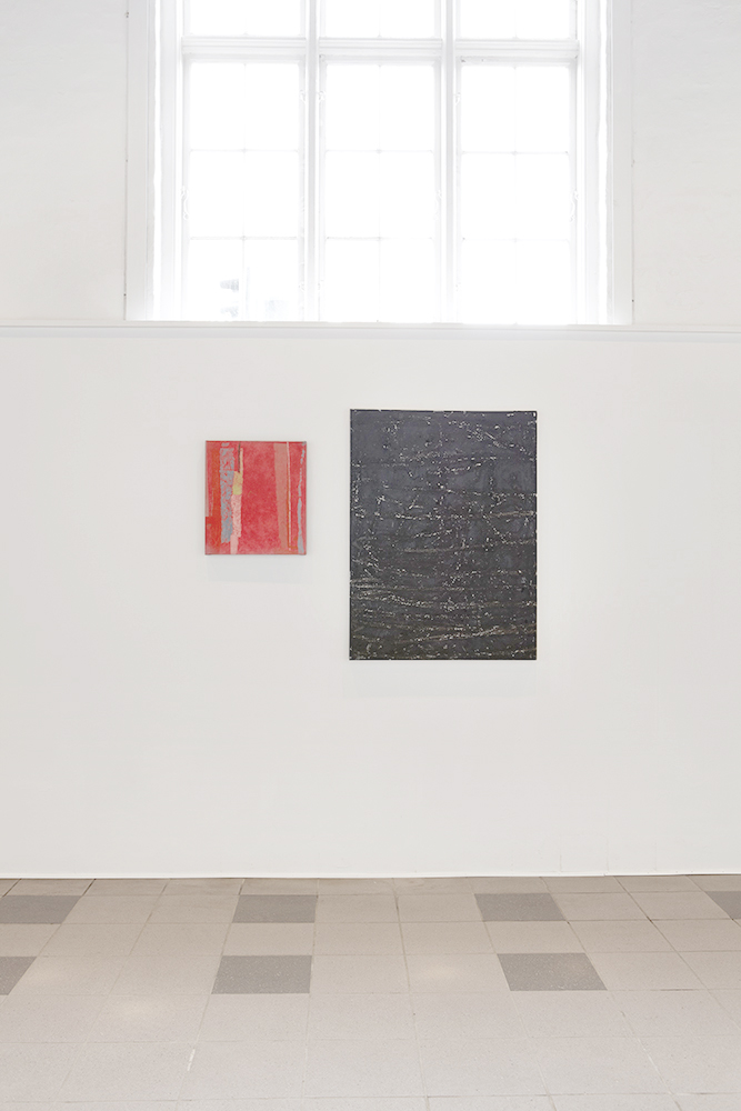 Installation view, lower gallery.