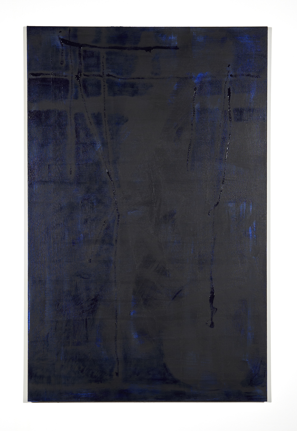 Martin Aagaard Hansen. Untitled, 2014, acryllic and rabbit glue on linen, 124 cm x 80 cm