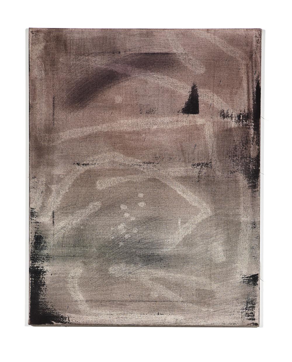 Martin Aagaard Hansen.Nogod, nogod, nogod, 2014, ink, water colour, terpentine, binder, 70 cm x 55 cm