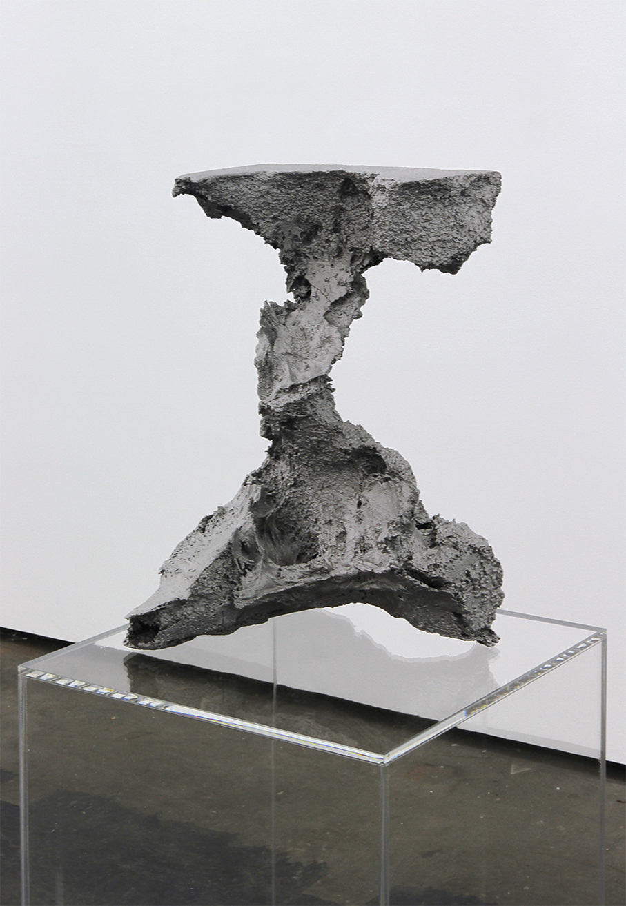 4_Theis Wendt_Ambient Reef # 2_aluminium cast and plexiglas plinth_106x32x32cm_2015.jpg