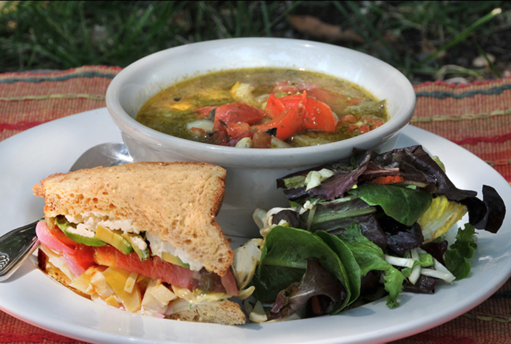 Food - Tantalize your taste buds while feasting on delicious, organic, farm-to-table meals made fresh daily on the ranch.