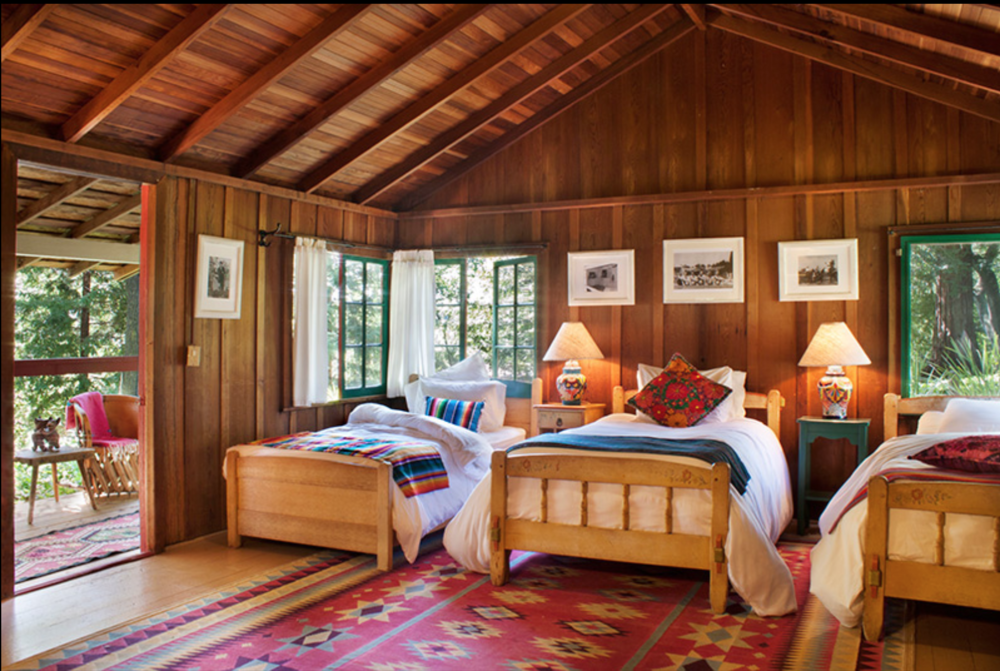 Lodging - Savor a deep night's sleep and the sweet sounds of nature from your charming, rustic cabin, then wake to the comforting smell of the woods. Rooms each have a private shared bathroom and adjustable heat/air conditioning.