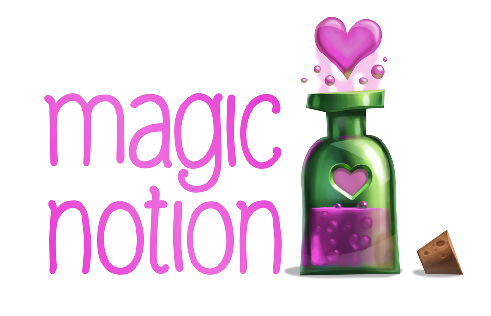 Compact Magic Notion Logo