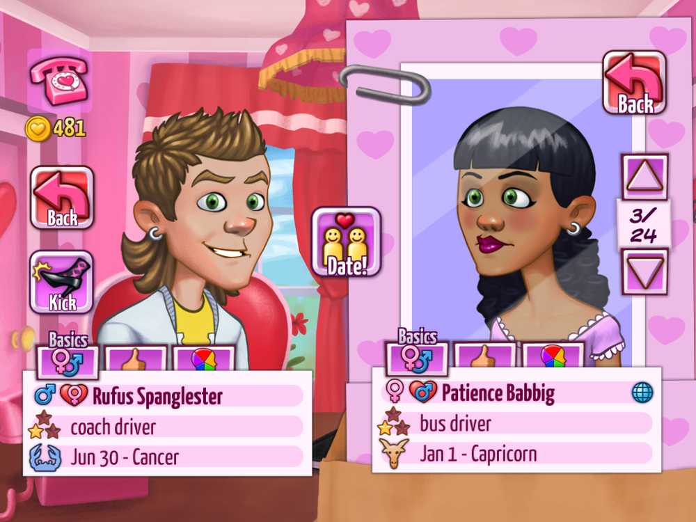 kitty powers matchmaking online