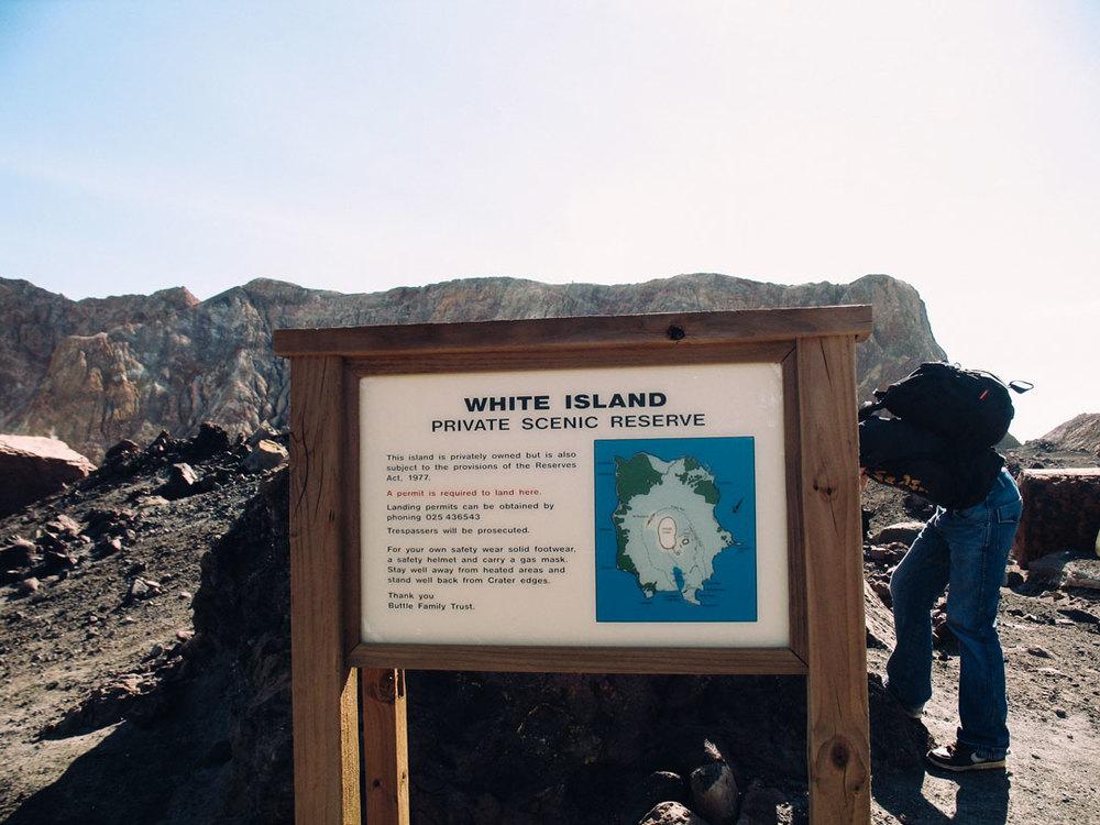 white island aktiv vulkan på nya zeeland