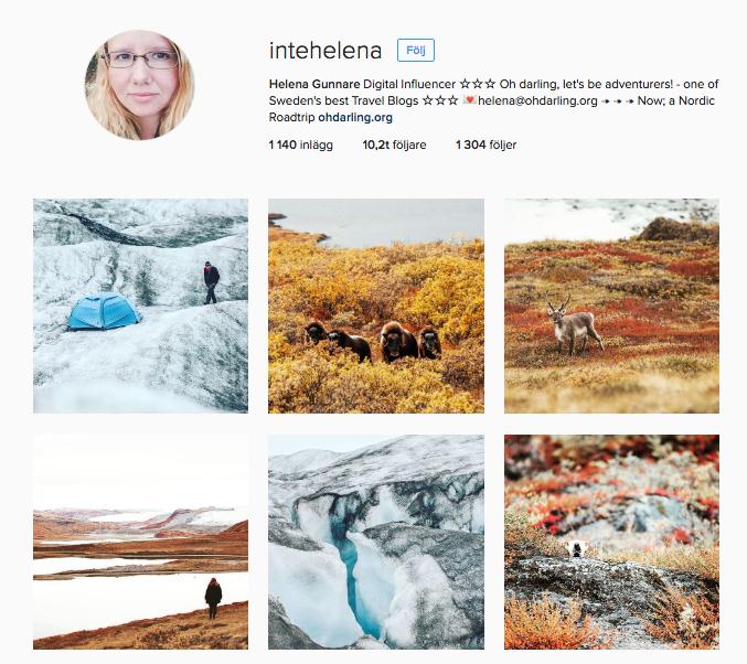 Oh Darling reseblogg och instagram.