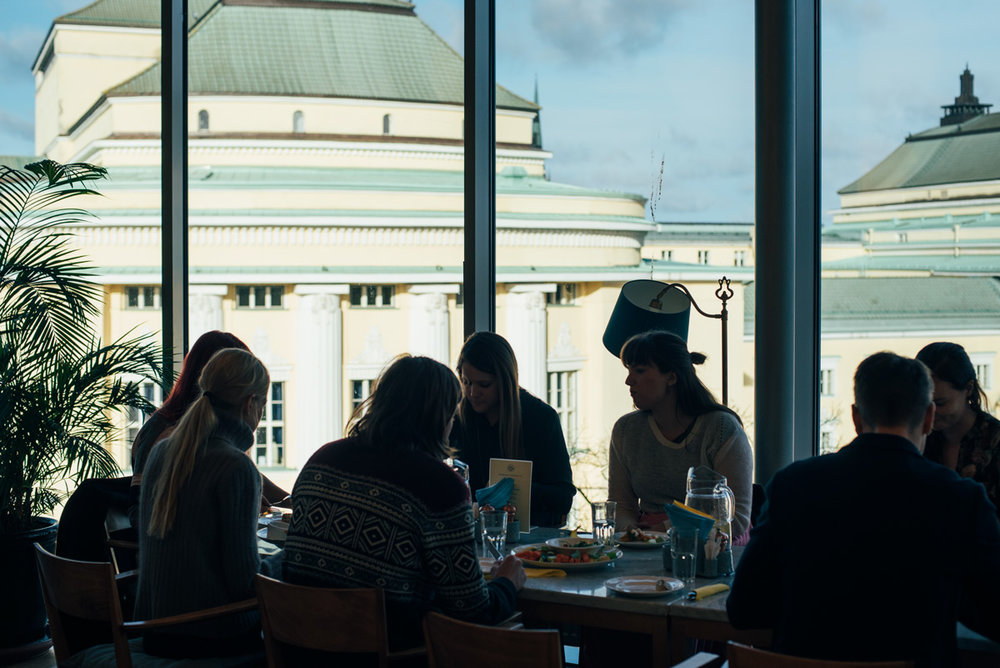 Vegetariskt och vegansk mat på cafe komeet i Tallinn