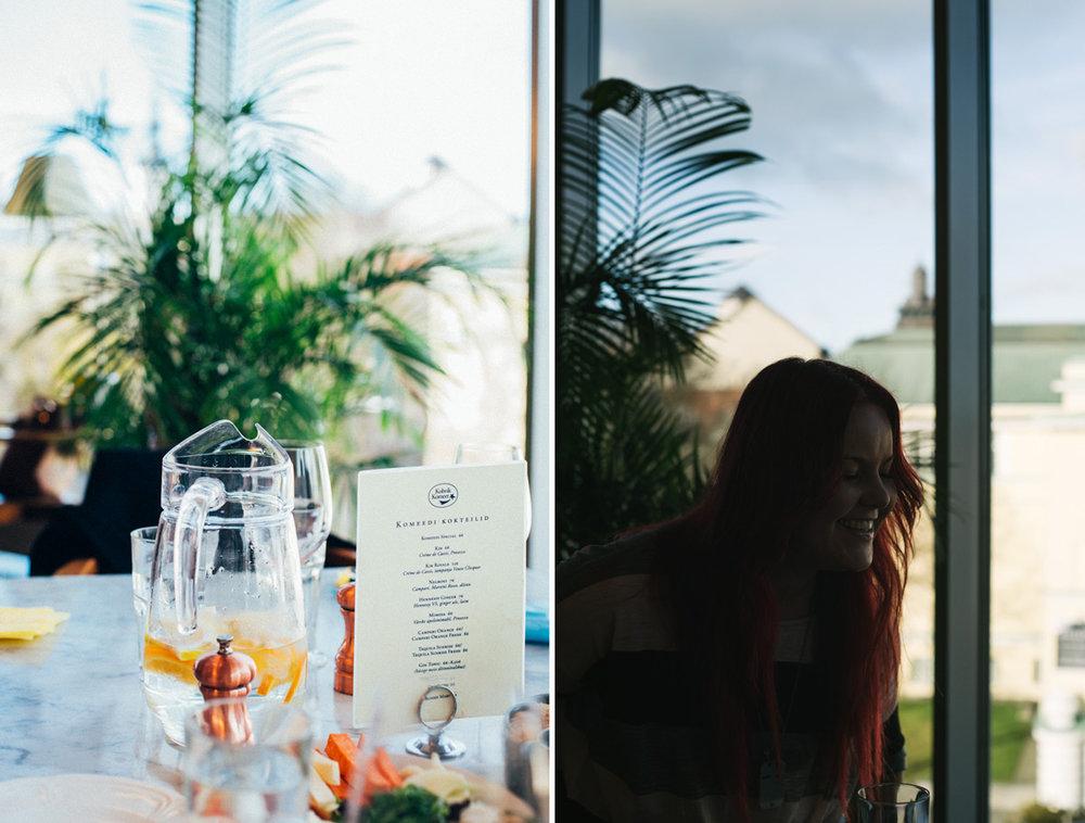 Madeleine från  Landleys kö k på cafe komeet i tallinn