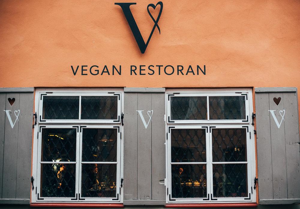vegansk mat Tallinn