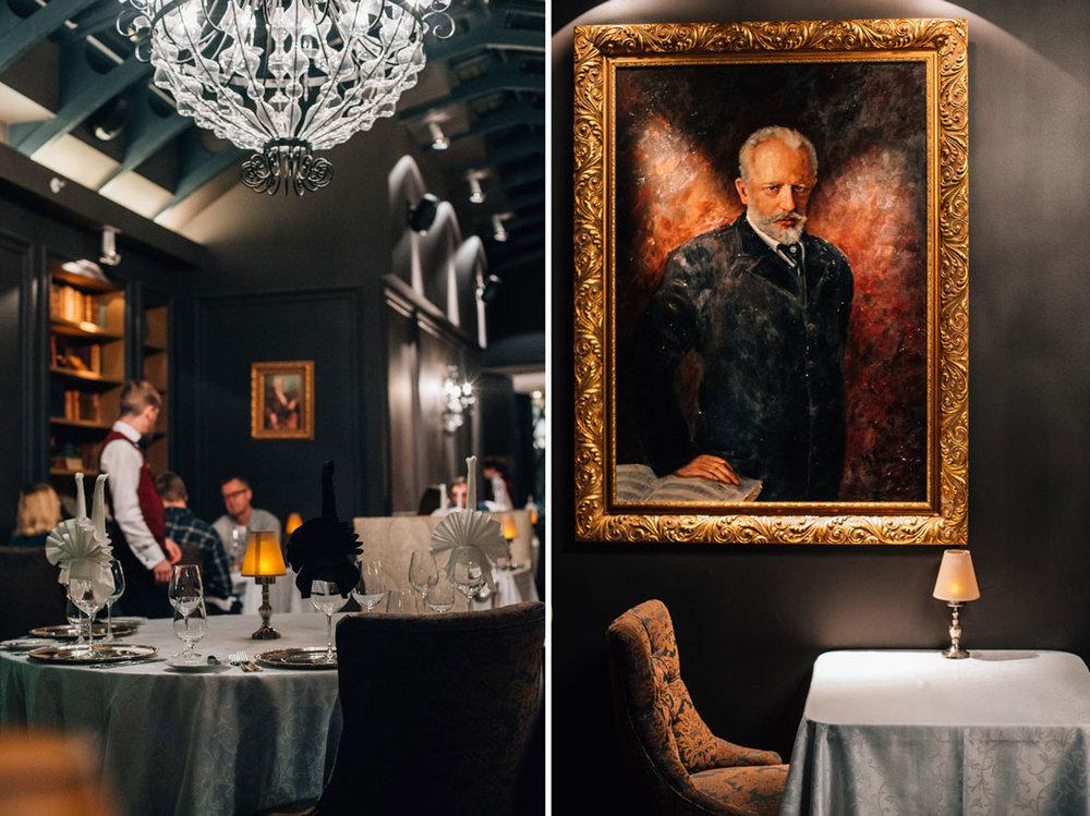Tallinns mest romantiska restaurang: Tchaikovsky