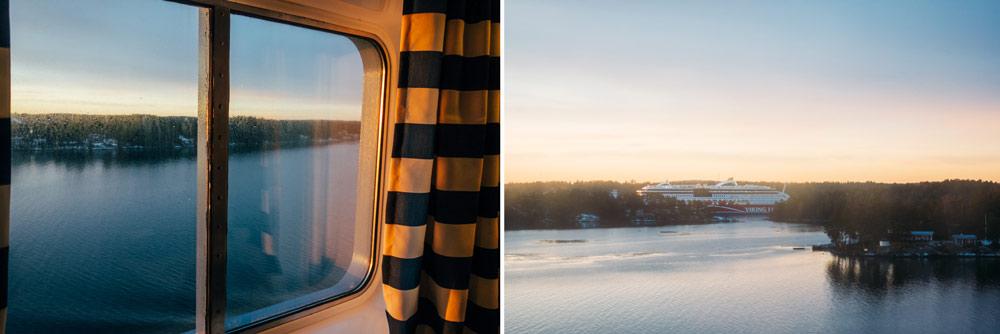 Tallink Silja kryssning Helsingfors Stockholm skärgård