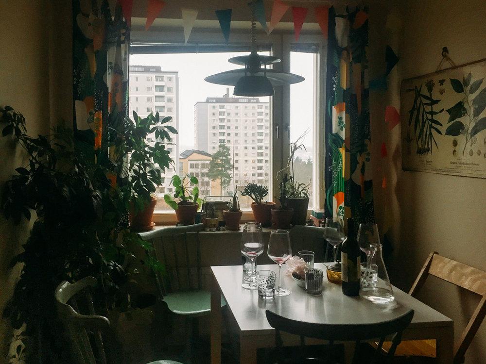 bohemisk retro vintage kök stockholm