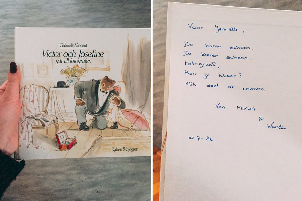 barnbok Victor och josefin går till fotografen Gabrielle Vincent