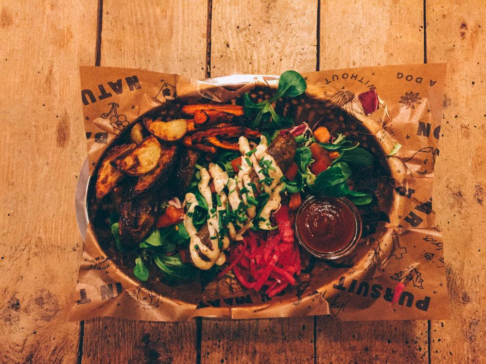 Baton Rouge Ekologisk vegetarisk snabbmat Lidingö Stockholm