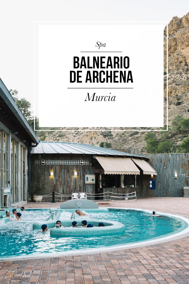 Balneario De Archena spa södra spanien Murcia