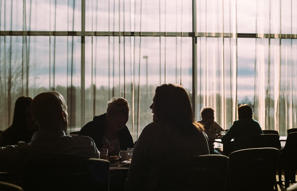 Frukost på Clarion hotel Arlanda.