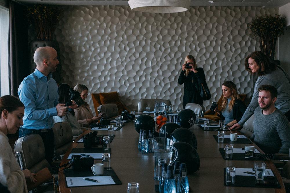 Svenska resebloggar konferens och medlemsträff på Clarion hotel Arlanda