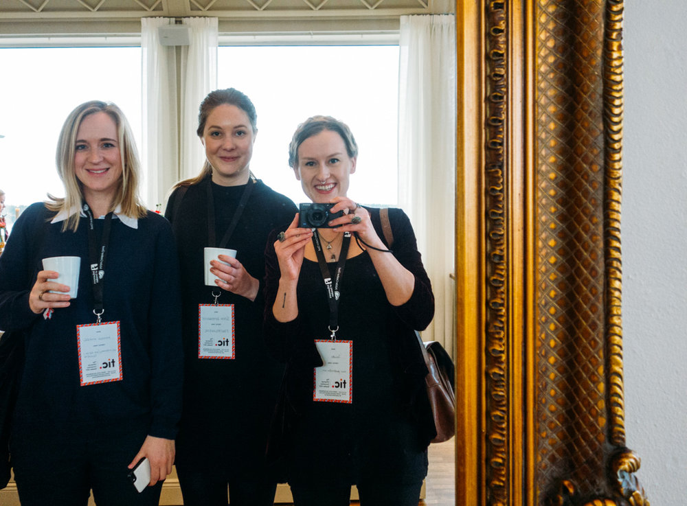 Resfredag, Fantasiresor och Jeanette Seflin på The influencer convention 2017 på Grand hotel Saltsjöbaden