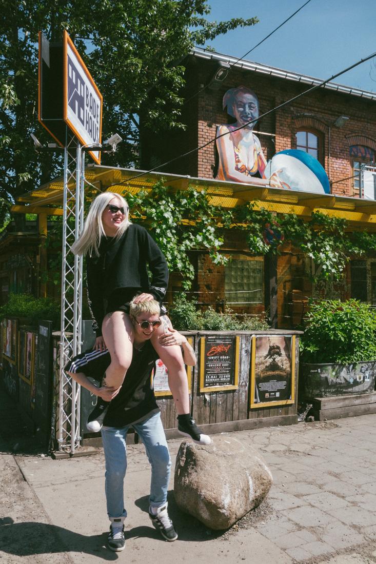 Ängie och Pussel på Raw Berlin