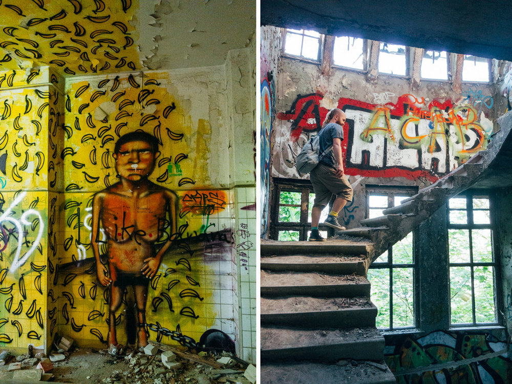 stairway to hell i övergivet hus