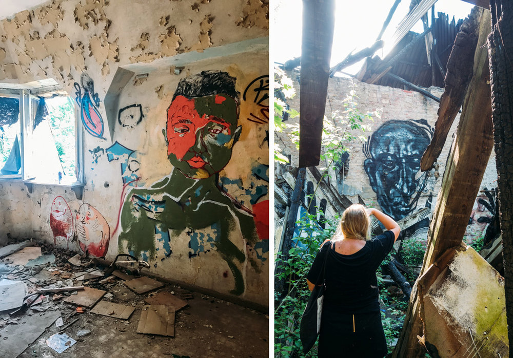 Urban exploring i Berlin