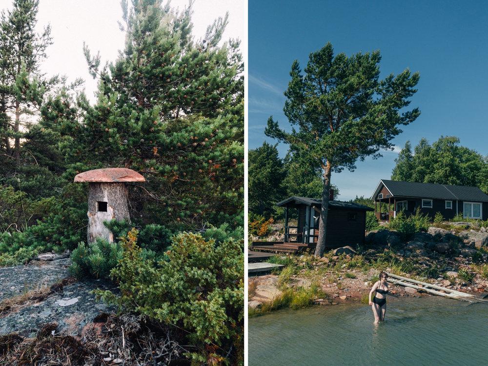 hyra en egen ö Lökskär i ålands skärgård