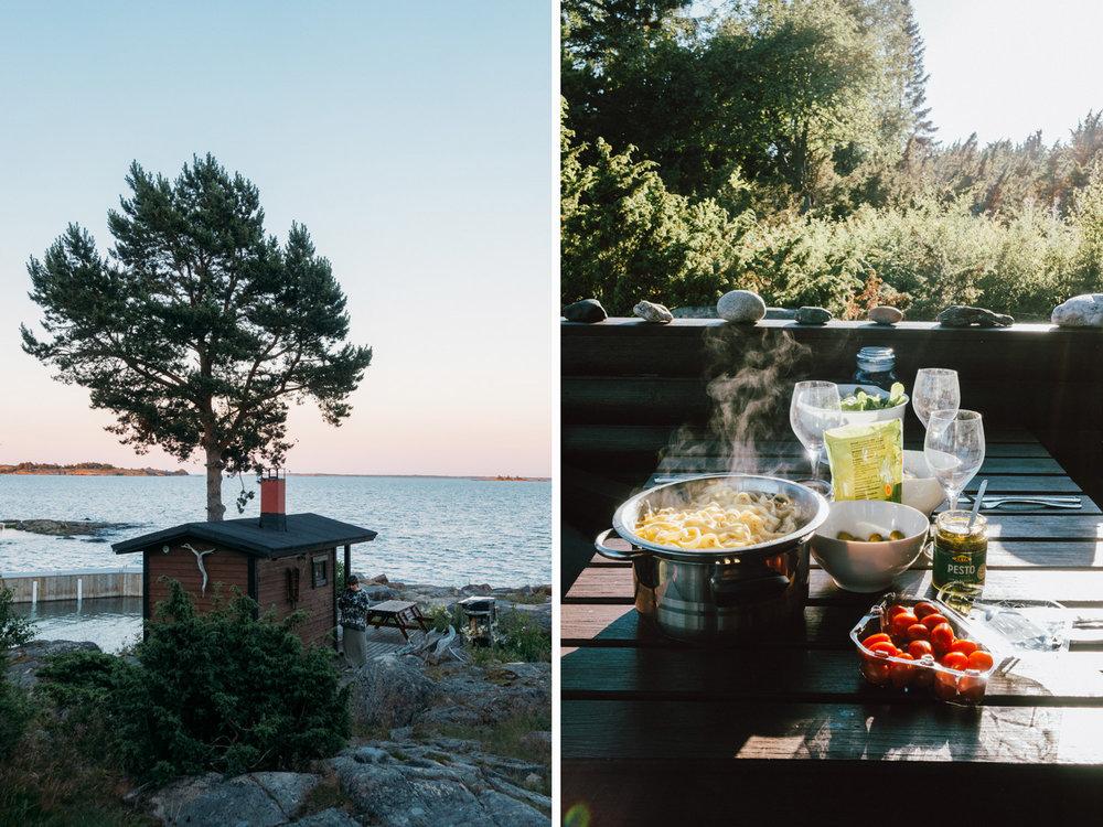 Hyra ön Lökskär med stuga och bastu i Ålands skärgård