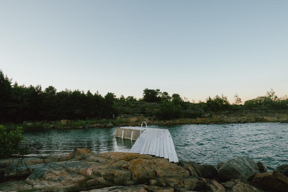 badplats åland