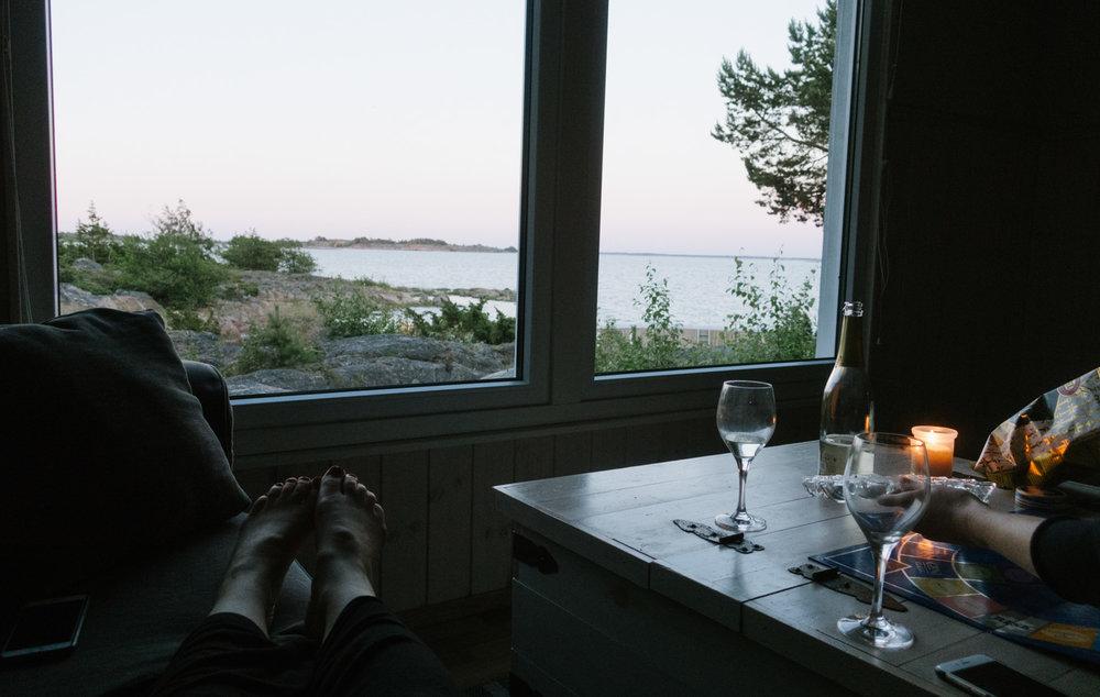 hyra stuga på ö i Ålands skärgård