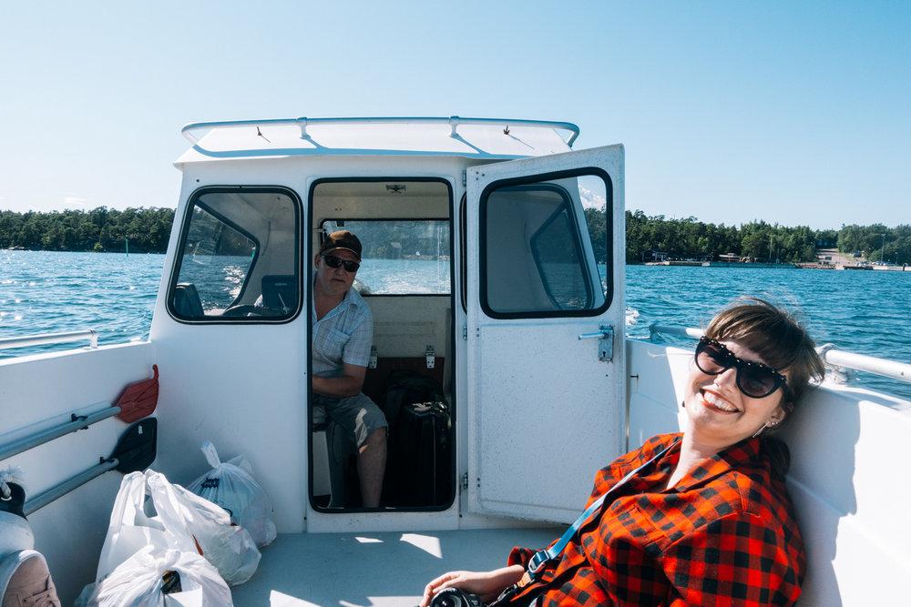 båt ålands skärgård