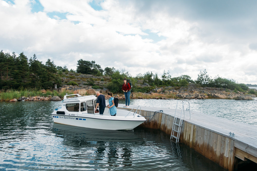 Hyra egen ö med stuga på Lökskär i Ålands skärgård.