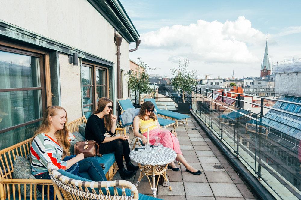 haymarket hotell takterrass i stockholm på hötorget