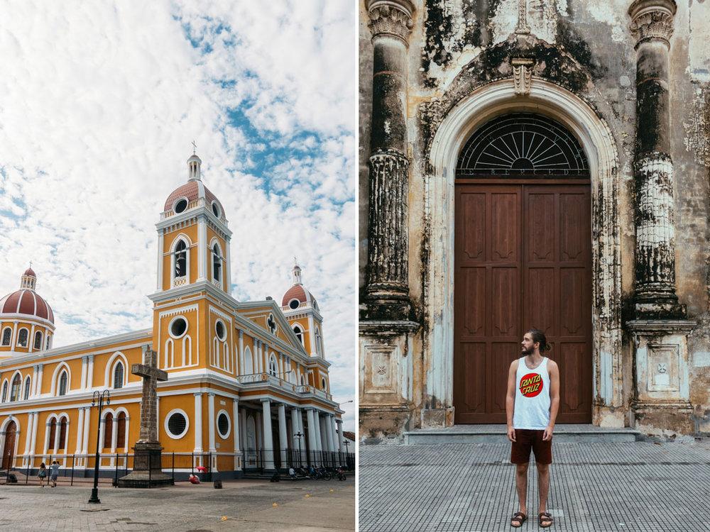 Granada saker att se i nicaragua