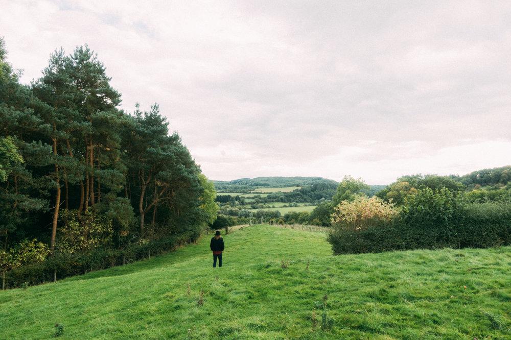 worcestershire på engelska landsbygden