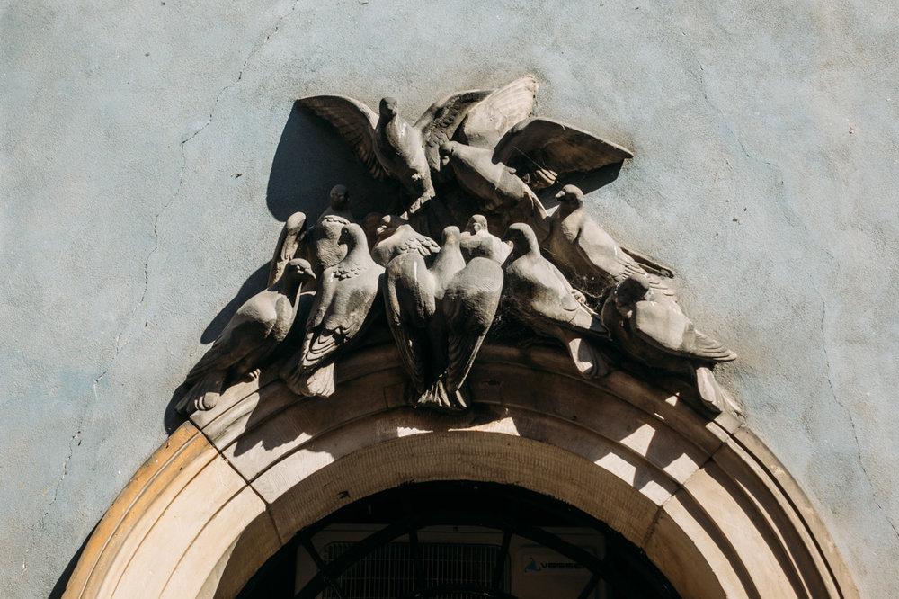 guidad tur genom gamla stan i Warszawa duvor