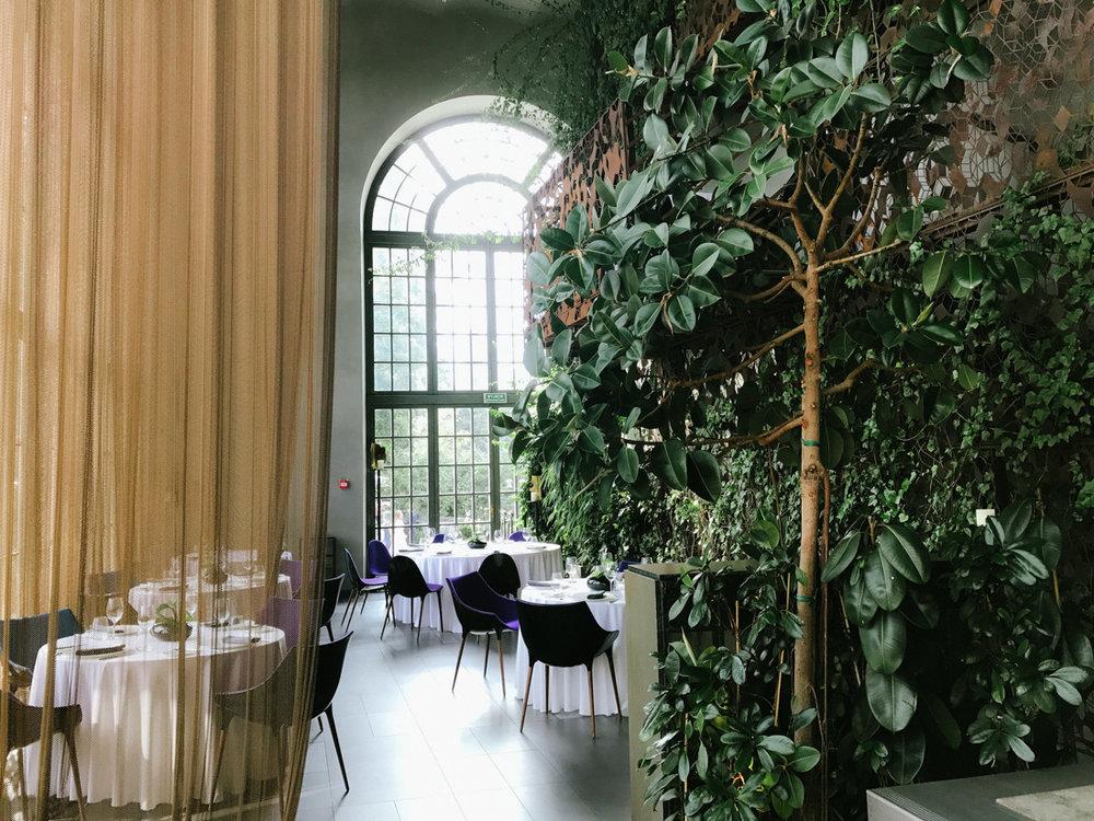 Ät middag på den lyxiga restaurangen Belvedere, ett tips i min guide till bra restauranger och caféer i Warszawa