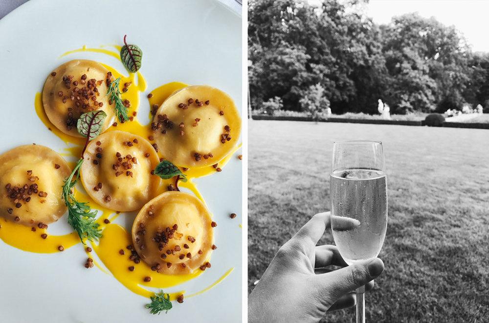 Ät lunch och middag på den lyxiga restaurangen Belvedere, ett tips i min guide till bra restauranger och caféer i Warszawa