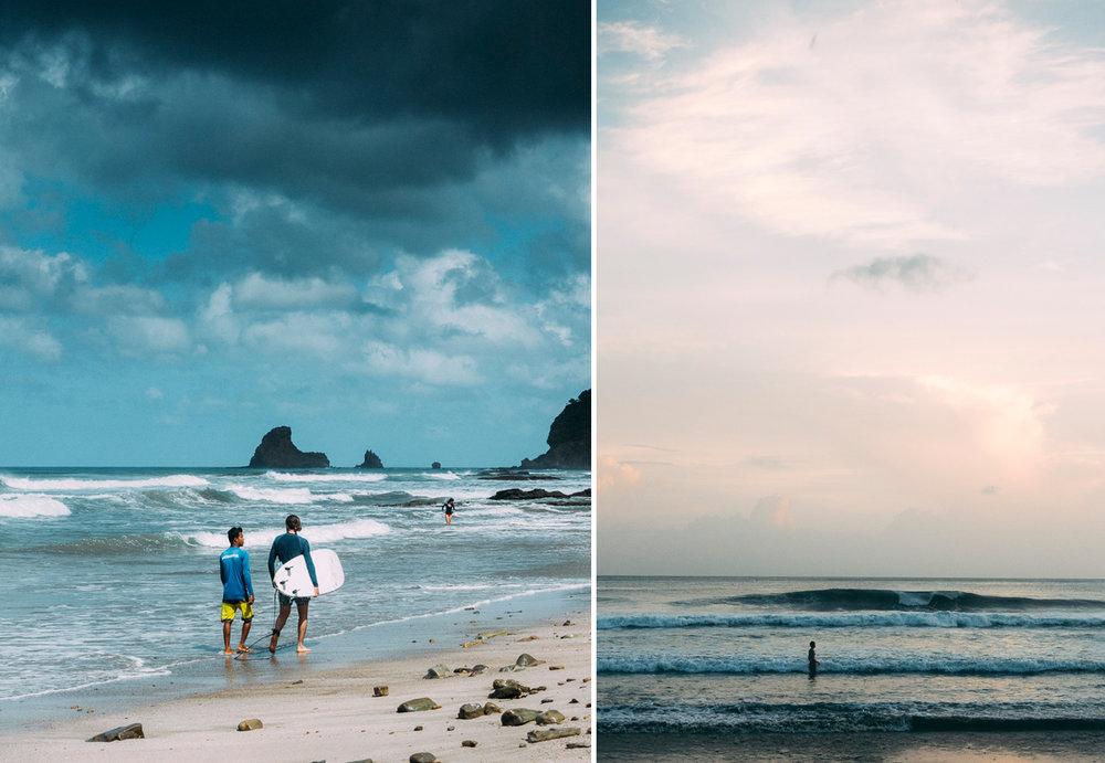 Surf Playa Maderas i Nicargua