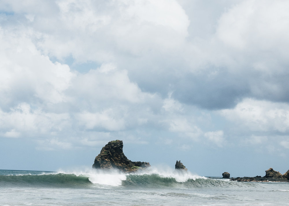 Surf på Playa Maderas i Nicaragua