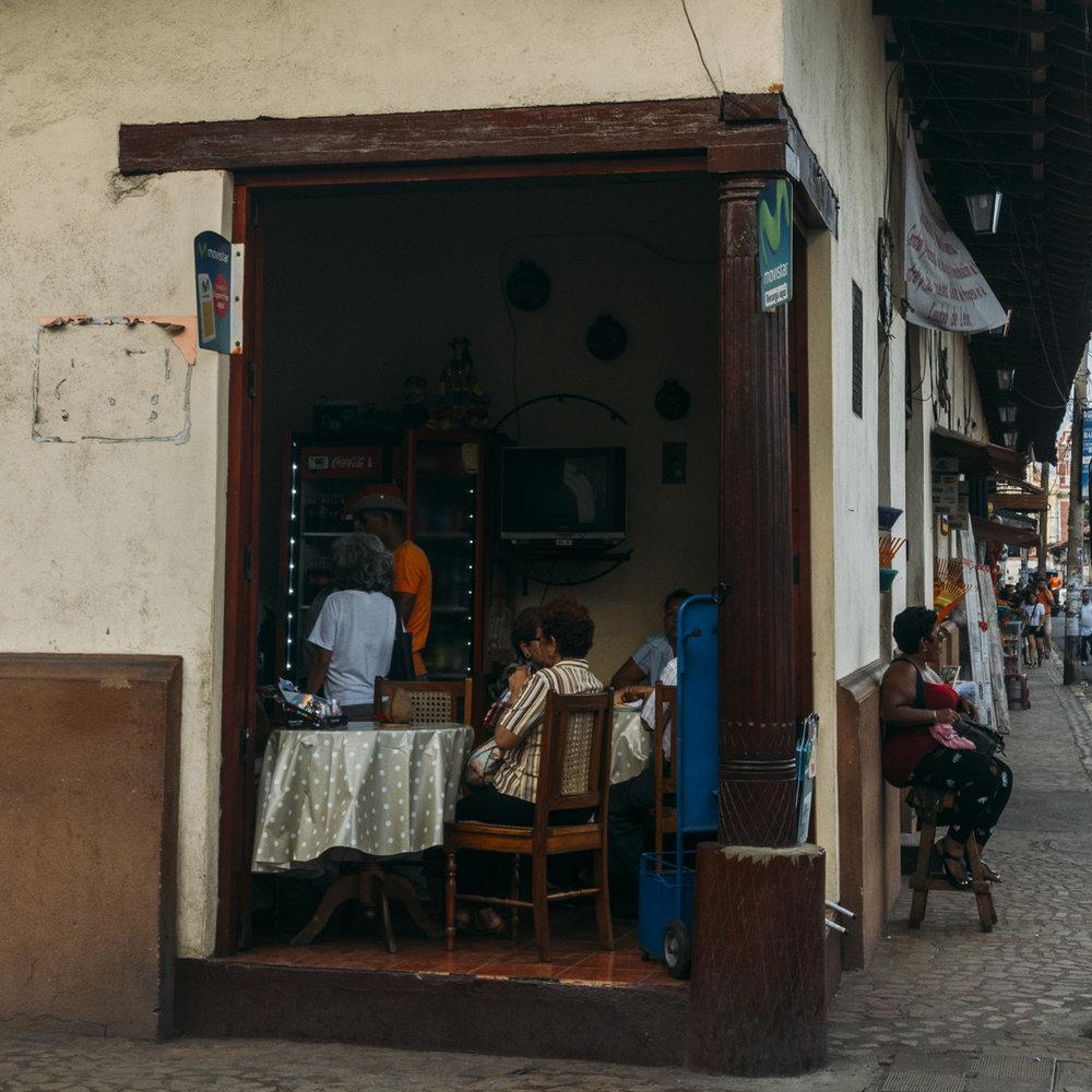 restaurang i Leon Nicargua