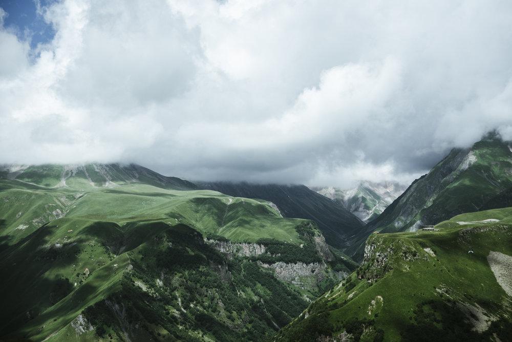 Resa i Georgien och kaukasusbergen