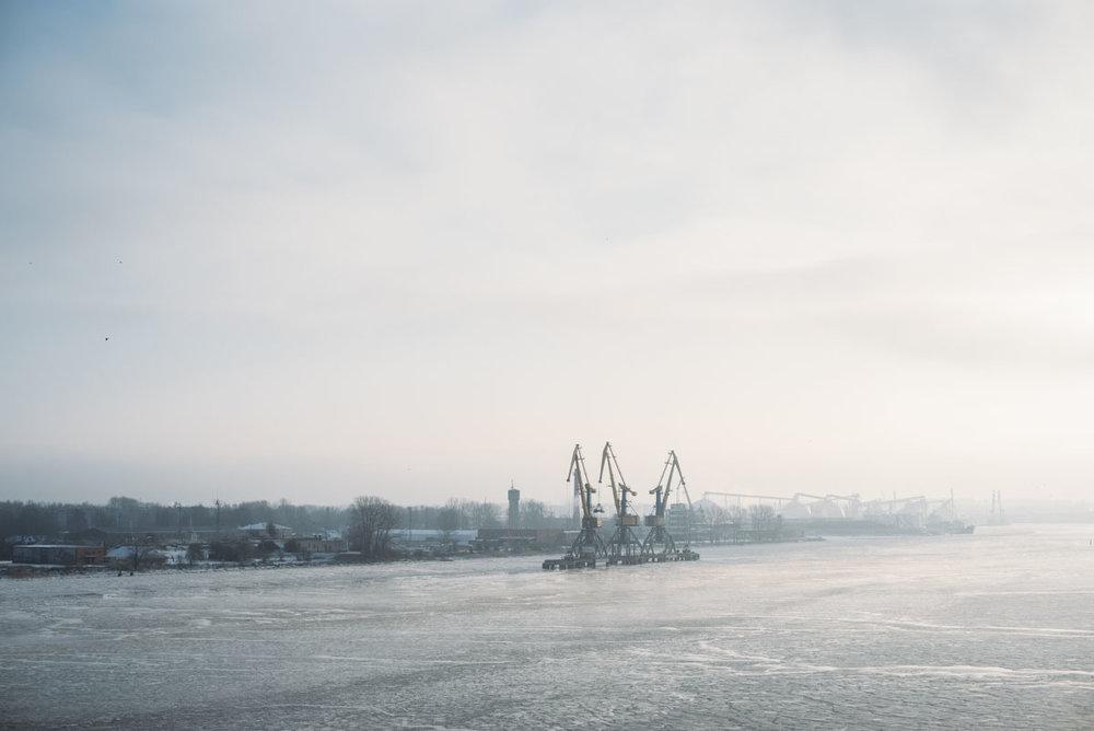 Kryssning med Tallink till Riga på vintern
