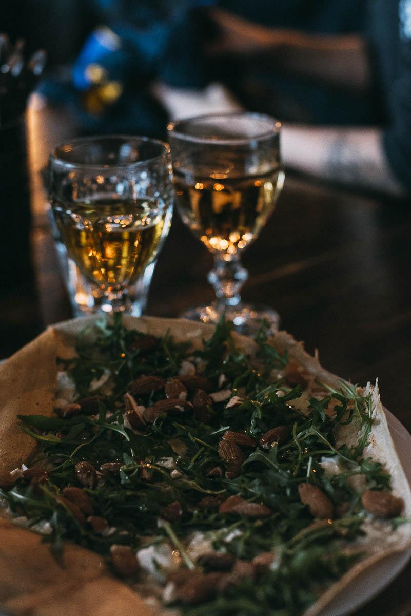 Äta lunch i Åre på Creperie