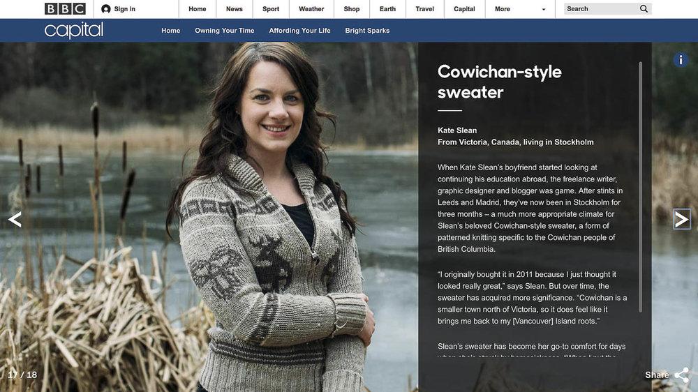 Porträttfotografering för BBC i Stockholm