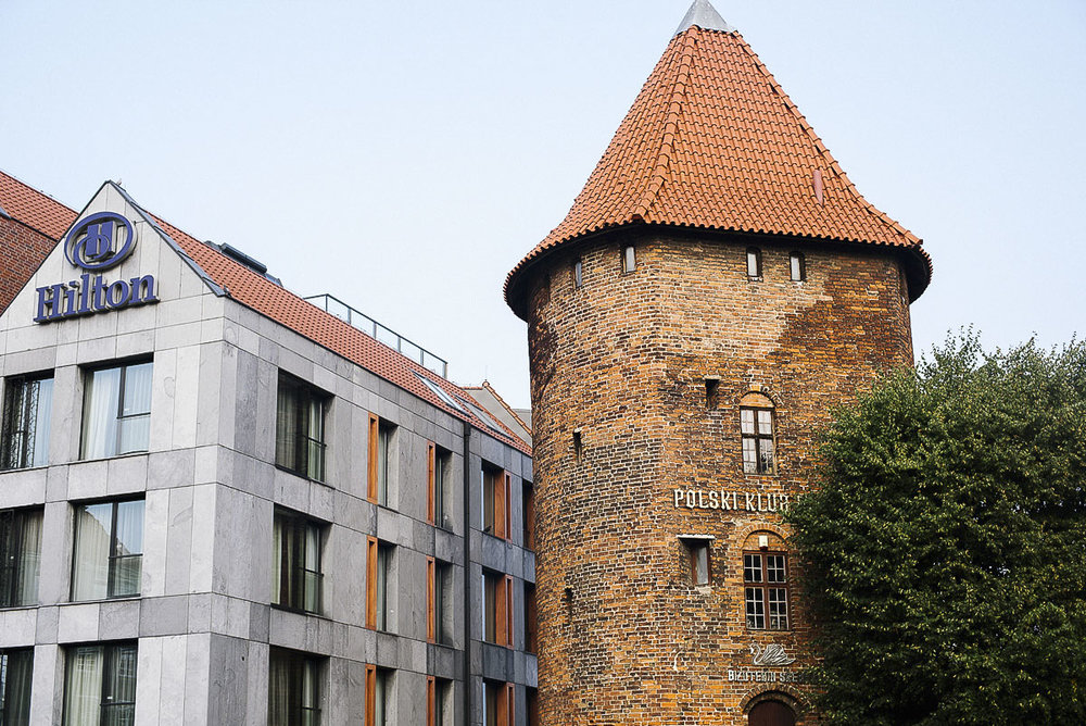 Resa till Gdansk en weekend och bo på Hilton hotell i Gdansk