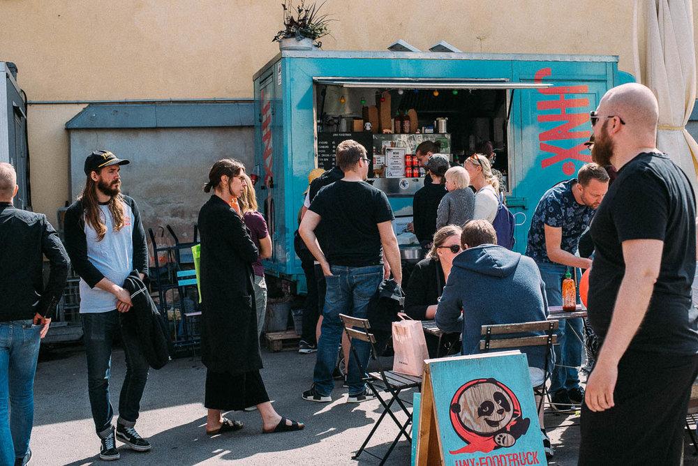 äta mat från foodtruck i Göteborg